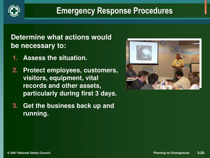 Emergency Response Procedures