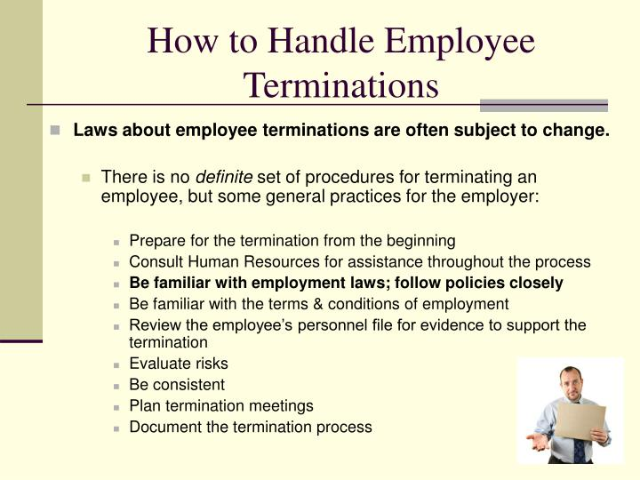 How to Handle Employee Terminations