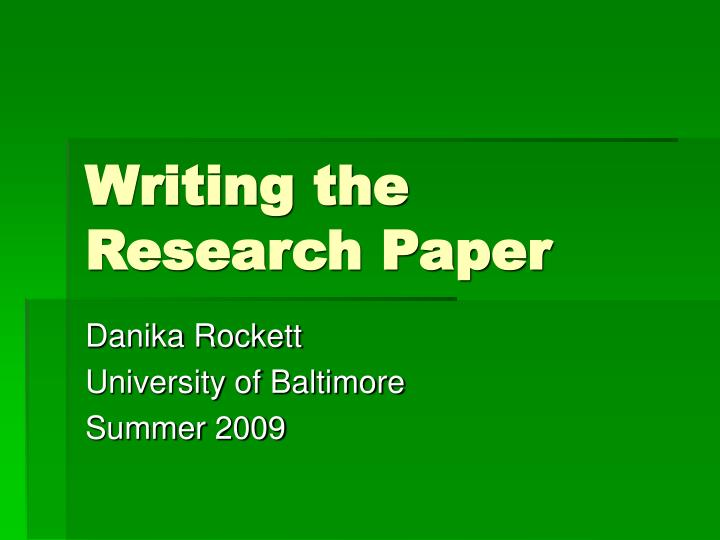 elements of writing a research paper 2 2 elements of the scientific research paper • title • abstract • introduction • methods • results • discussion • works cited • appendices while all scientific research reports share a common organizational setup, you will find.