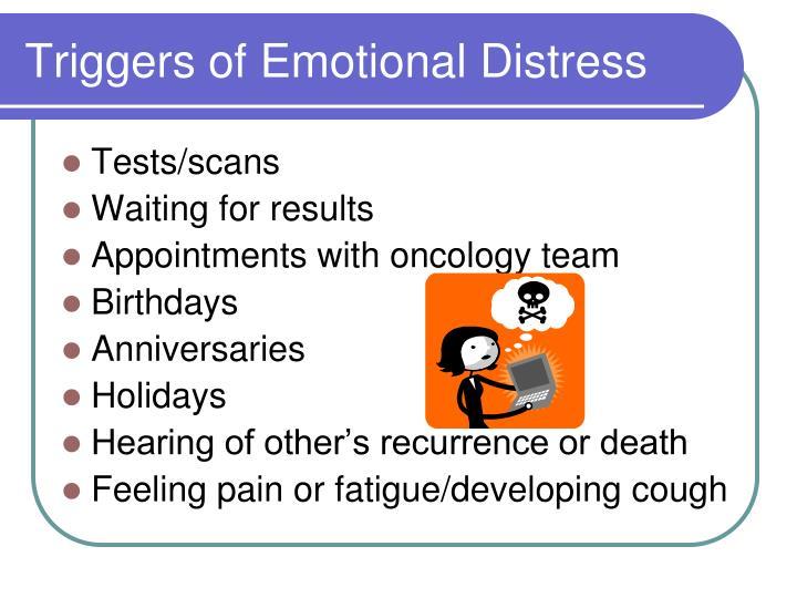 Triggers of Emotional Distress