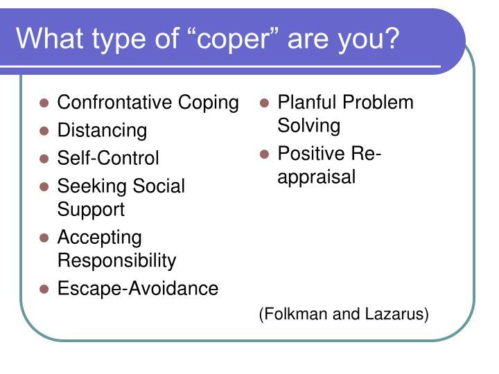 Confrontative Coping