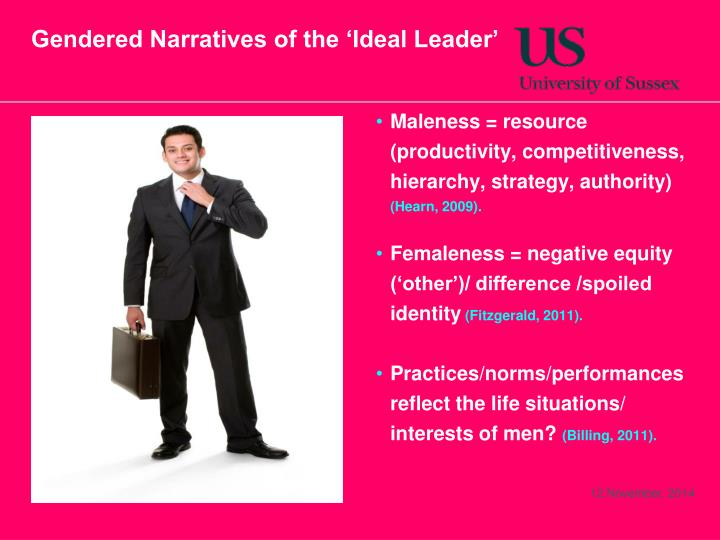 gender hierarchy and leadership Differences in leadership styles between of innovation on the gender in the leadership support the finding that there exists no differences in leadership.