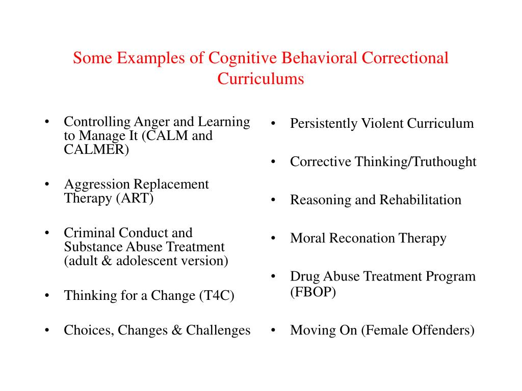 PPT - WHAT WORKS AND WHAT DOESN'T IN REDUCING RECIDIVISM The