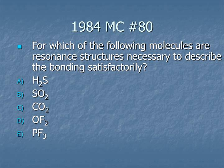 1984 MC #80