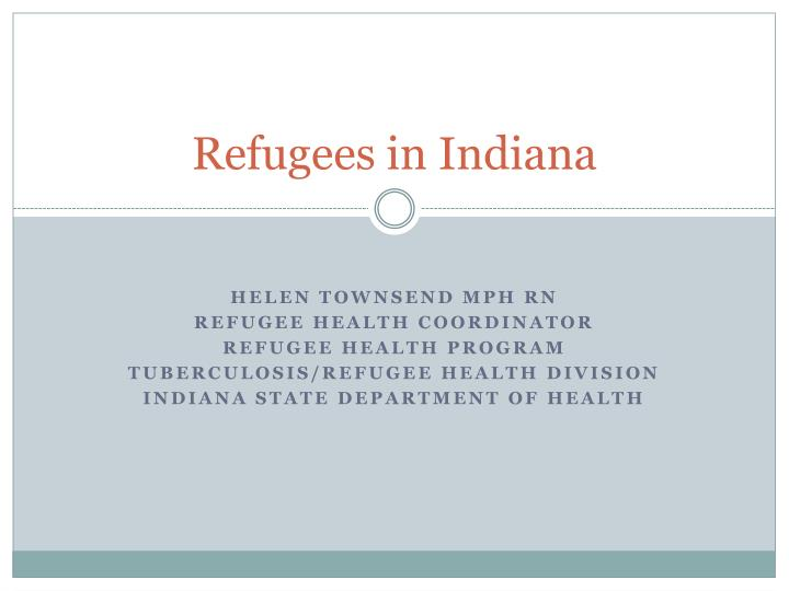 refugees in indiana n.