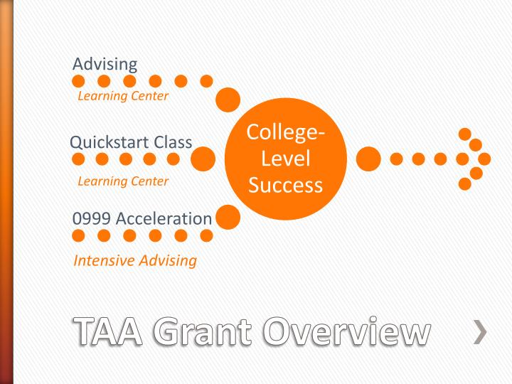 Taa grant overview1