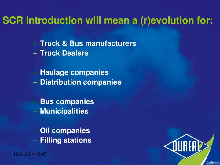 Truck & Bus manufacturers