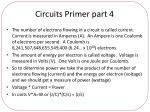 circuits primer part 4