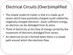 electrical circuits over simplified