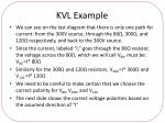 kvl example