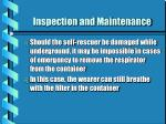 inspection and maintenance1