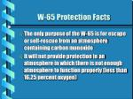 w 65 protection facts1