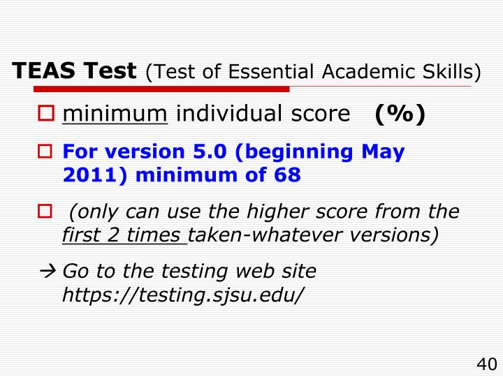 TEAS Test