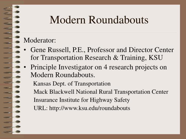Modern roundabouts1