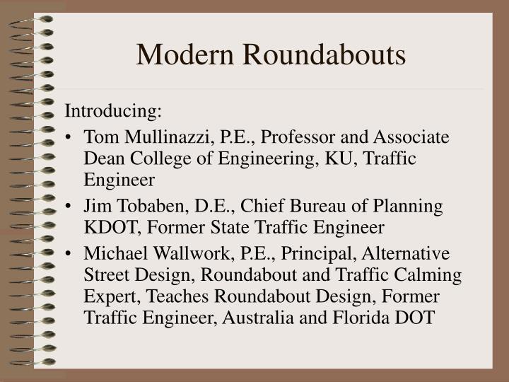 Modern roundabouts2