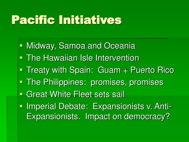 Pacific Initiatives