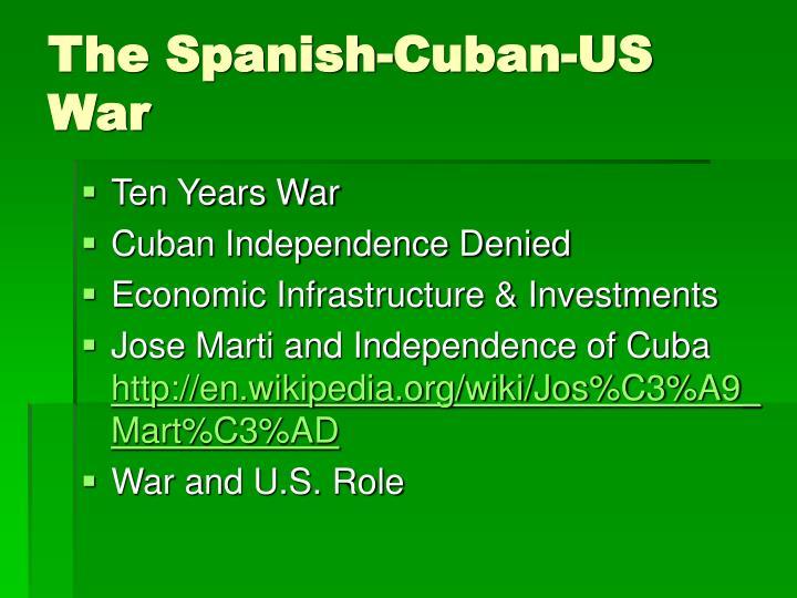 The Spanish-Cuban-US War