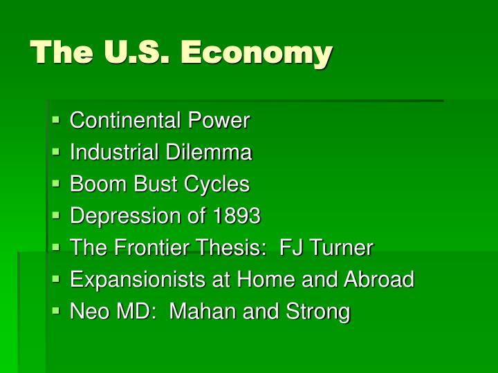 The u s economy