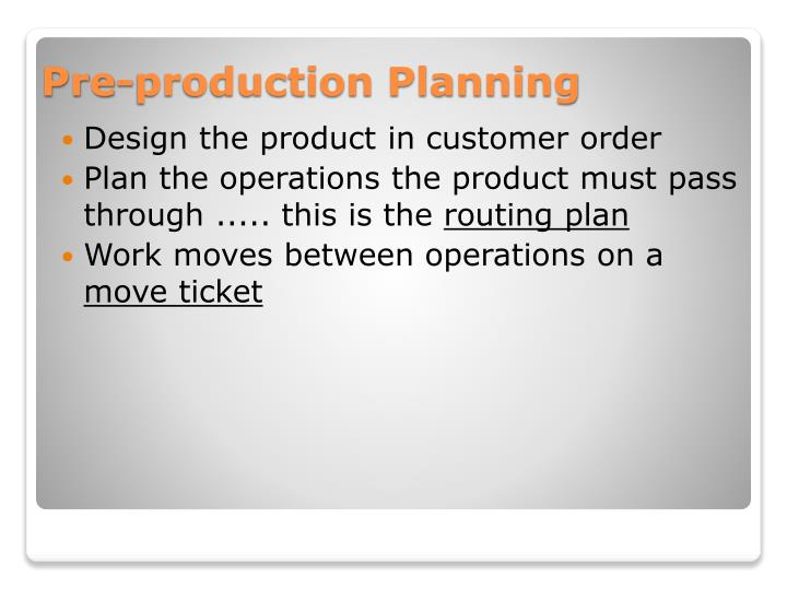 Design the product in customer order