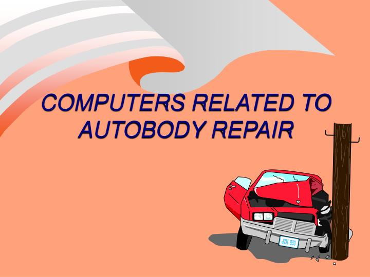 computers related to autobody repair n.