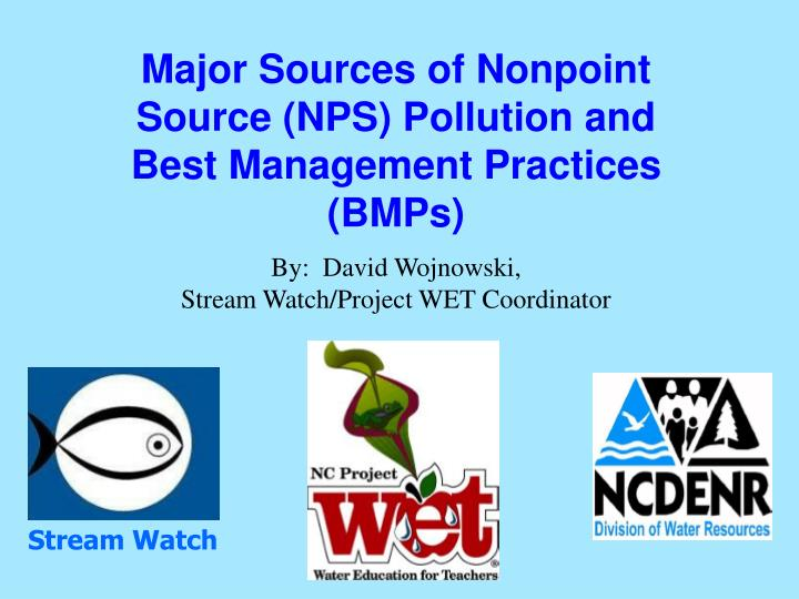 an introduction to best management practices for storm water pollution Best management practices (bmp) is a term used in the united states and canada to describe a type of water pollution control historically the term has referred to auxiliary pollution controls in the fields of industrial wastewater control and municipal sewage control, while in stormwater management (both urban and rural) and wetland management, bmps may refer to a principal control or.
