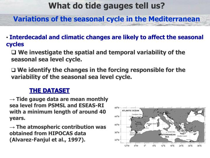 What do tide gauges tell us?