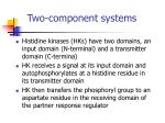 two component systems1