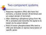 two component systems2