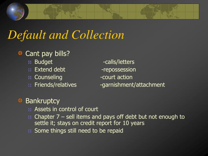 Default and Collection