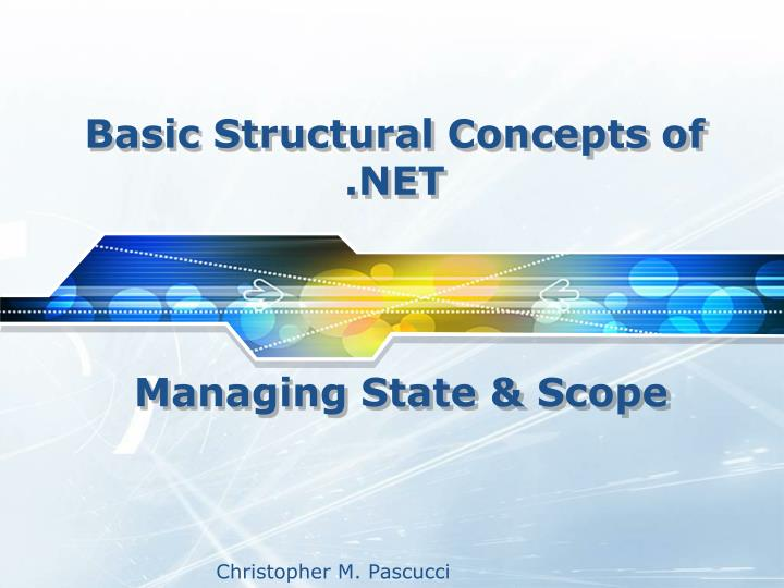 basic structural concepts of net