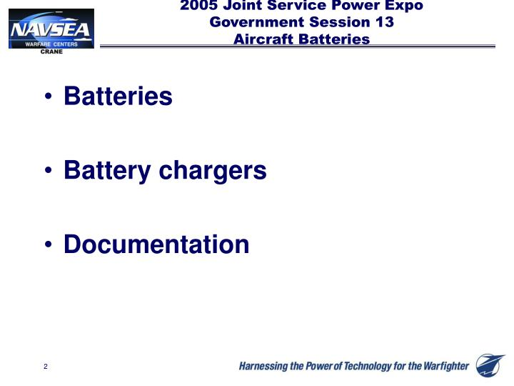 2005 joint service power expo government session 13 aircraft batteries1