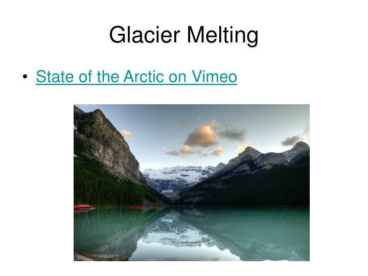 Glacier Melting