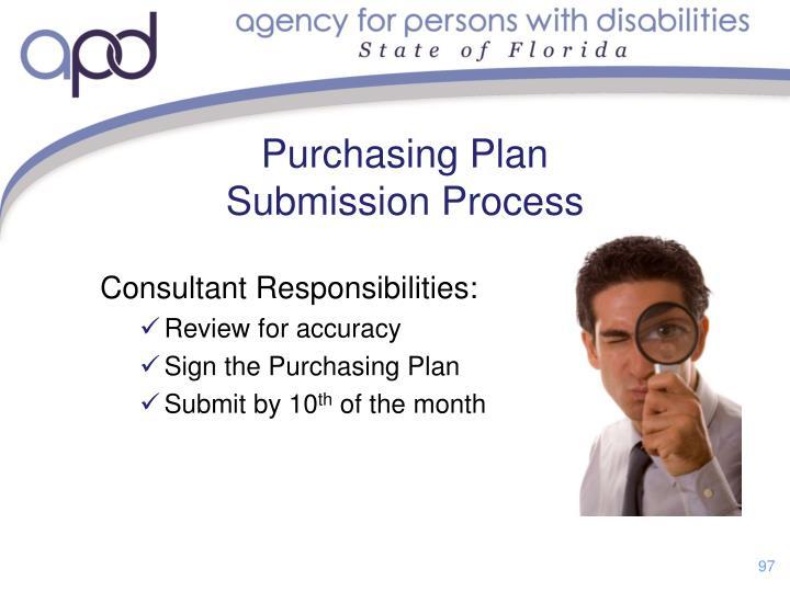 Consultant Responsibilities: