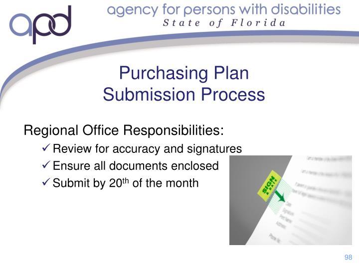 Regional Office Responsibilities: