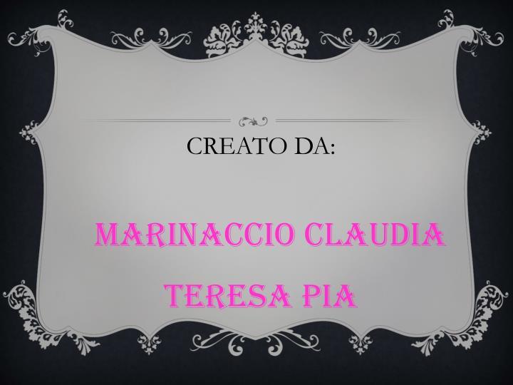 CREATO DA: