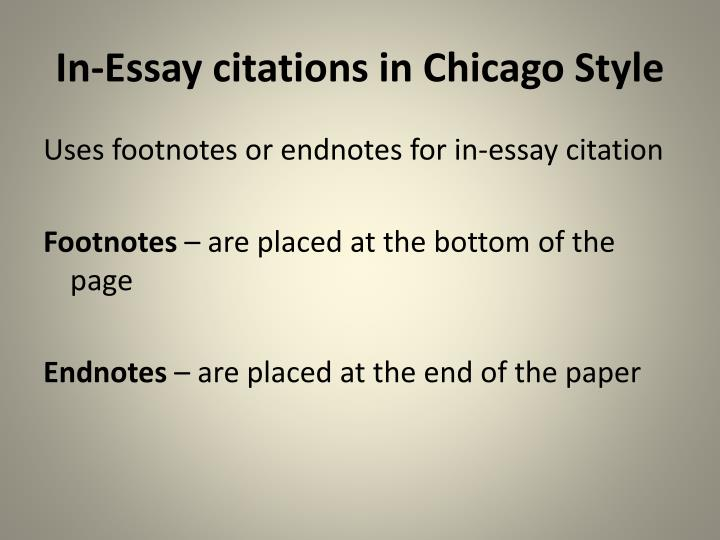 chicago manual style essay citation Chicago style guide chicago style page formatting search this guide search chicago style guide: chicago style page formatting chicago style guide chicago style page formatting sample pages book  click the link below to download a chicago style citation and formatting checklist.