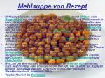mehlsuppe von rezept
