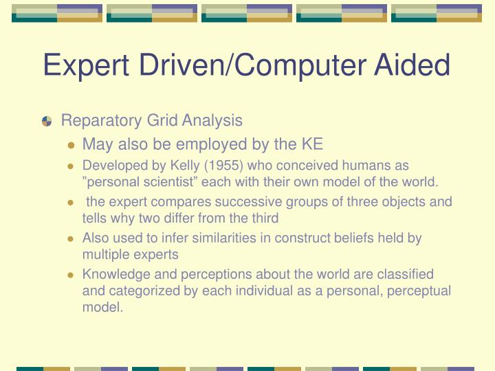 Expert Driven/Computer Aided