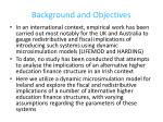background and objectives1