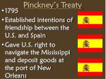 pinckney s treaty