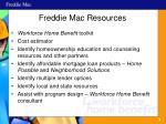 freddie mac resources