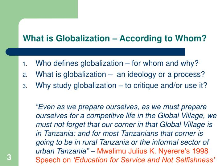 definition of globalisation Globalization definition is - the act or process of globalizing : the state of being globalized especially : the examples of globalization in a sentence recent examples on the web.