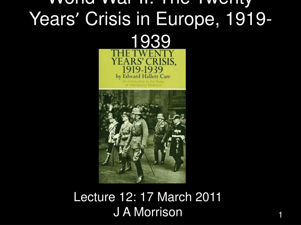 the 20 years crisis