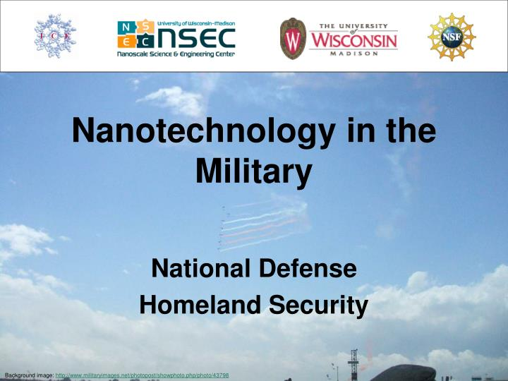 nanotechnology in the military n.