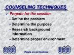 counseling techniques1