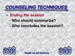 counseling techniques5