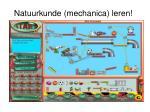 natuurkunde mechanica leren