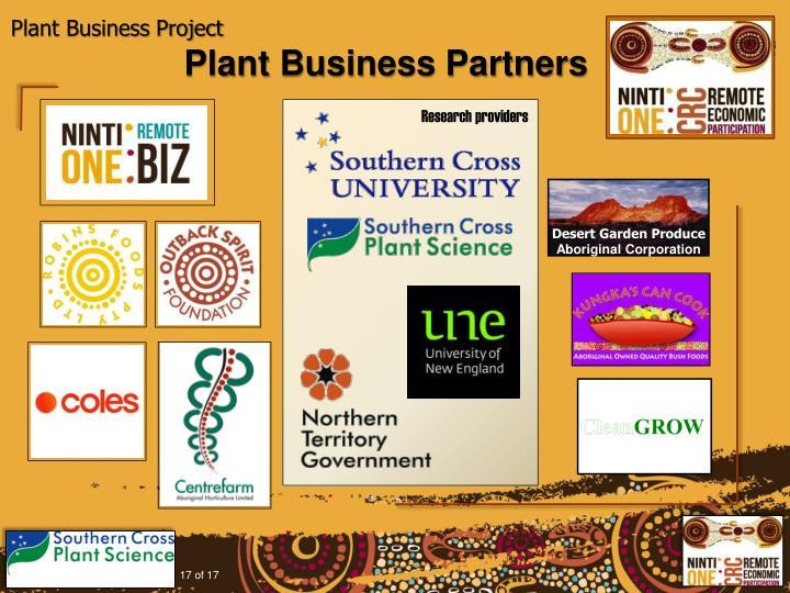 Plant Business Partners