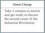 status change
