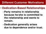 different customer motivations1
